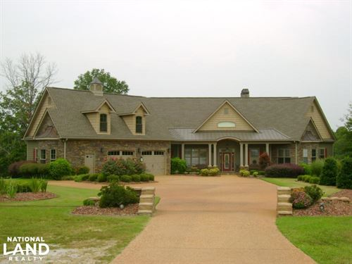 Sylacauga Estate With Lake : Sylacauga : Coosa County : Alabama