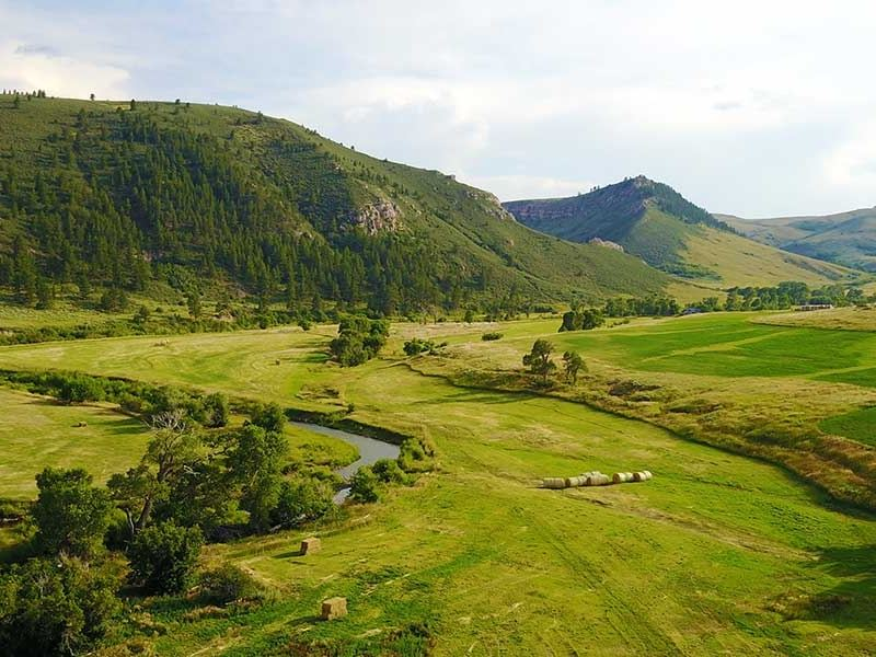 Glenrock Wy Ranch: Hidden Valley Ranch : Ranch For Sale : Glenrock : Converse