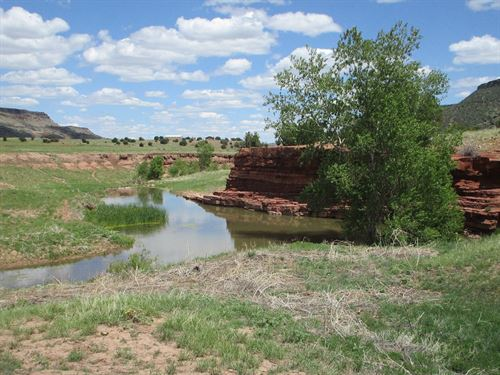 Red Rock Ranch : Folsom : Union County : New Mexico