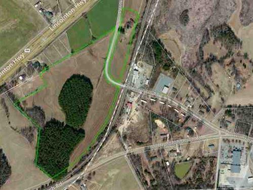 35.99 Ac Dev/Comm Land in Gaston : Crouse : Gaston County : North Carolina