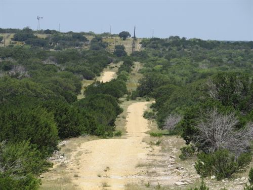 55 Acres With Views Nw Rocksprings : Rocksprings : Edwards County : Texas