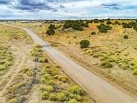 Ranch Has Utilities & Road Frontage : Fence Lake : Cibola County : New Mexico