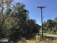 Richburg Road Acreage : Purvis : Lamar County : Mississippi