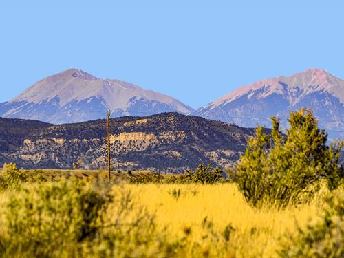 Ranch W/ Utilities & Mountain Views : Trinidad : Las Animas County : Colorado