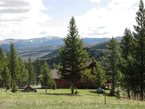 Deep Creek Sportsman's Overlook : Wise River : Deer Lodge County : Montana