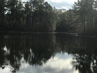 Large Tract With Lake & Barn West : Sumrall : Lamar County : Mississippi