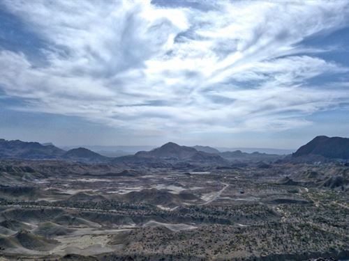 40 Acres With Lots Of Terrain : Terlingua : Brewster County : Texas