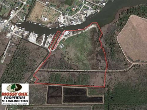 Reduced, 56 Acres of Land With Ma : Engelhard : Hyde County : North Carolina