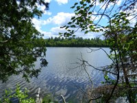 Shank Lake 90A Road : Amasa : Iron County : Michigan