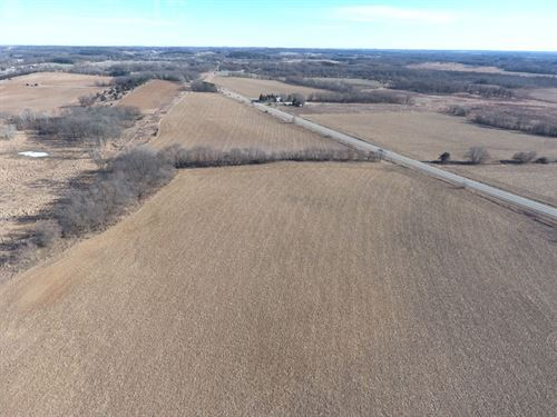 Farm Land Tillable And Small Wooded : Portage : Columbia County : Wisconsin