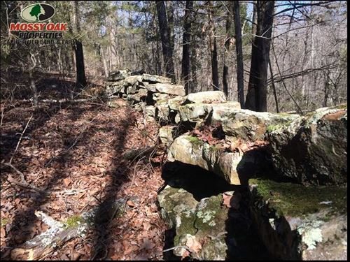 The Old Stone Wall Place. Make : Bethesda : Independence County : Arkansas