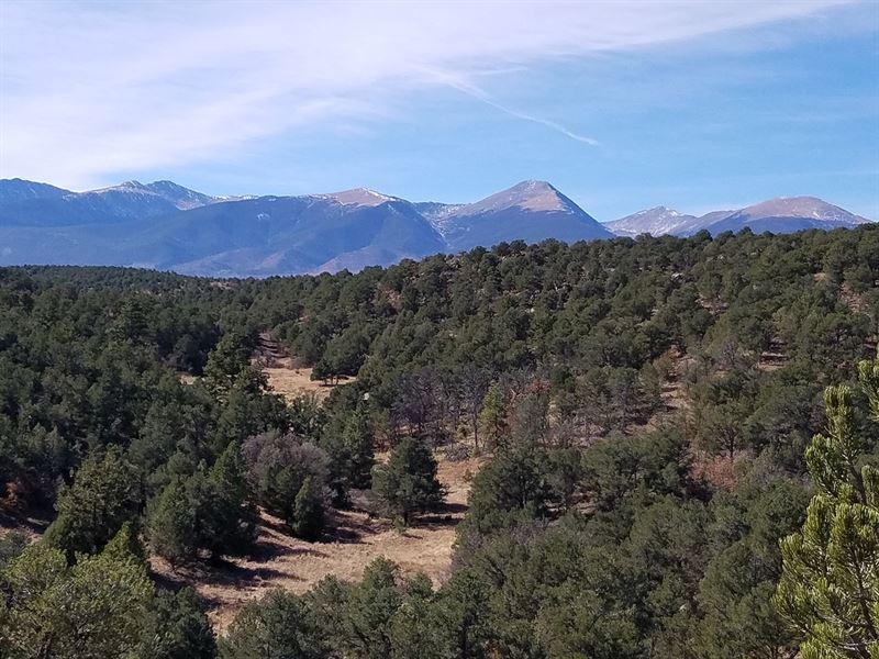 Barn Bordering Blm : Texas Creek : Fremont County : Colorado