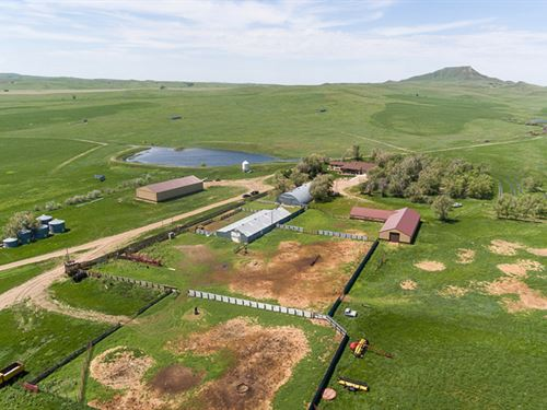 Haystack Butte Ranch : Belle Fourche : Butte County : South Dakota