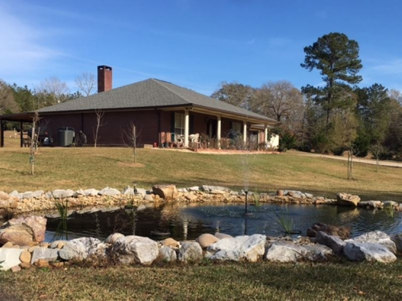 Home And 34 Acres With Two Ponds Ranch For Sale