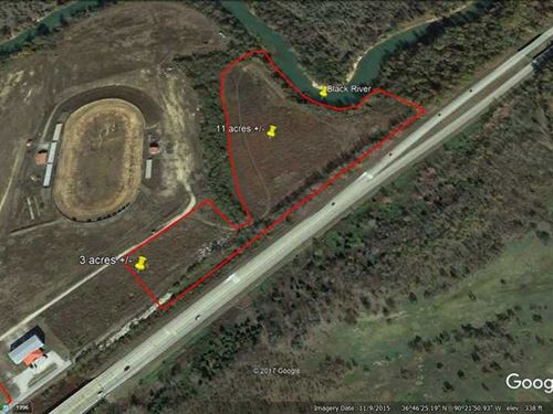 13 Acres For Sale in Poplar Bluff : Poplar Bluff : Butler County : Missouri