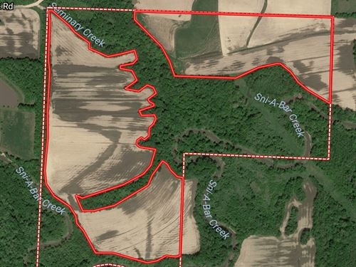Recreational & Cropland For Sale : Oak Grove : Jackson County : Missouri