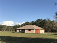 Beautiful Home On 20 Ac 771620 : Chiefland : Levy County : Florida