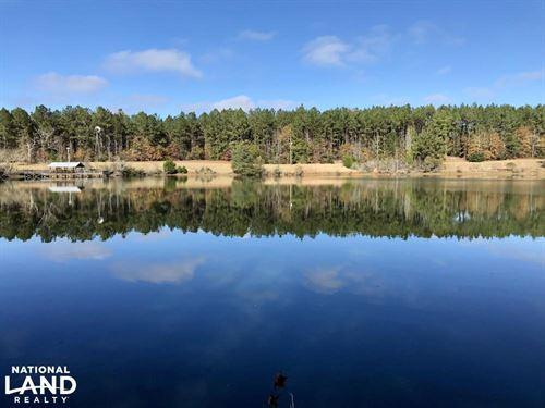 Zimco Lake And Cabin Retreat : Zimco : Clarke County : Alabama