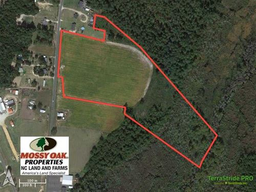 23 Acre Farm Land For Sale in Colu : Evergreen : Columbus County : North Carolina