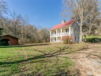 Historic Home And 100 Acres : Columbia : Maury County : Tennessee