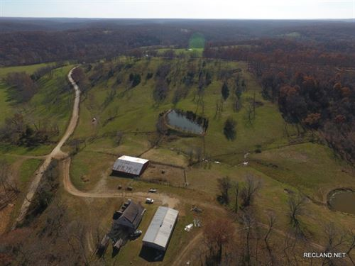 372 Ac - Cattle Ranch & Home : Climax Springs : Camden County : Missouri