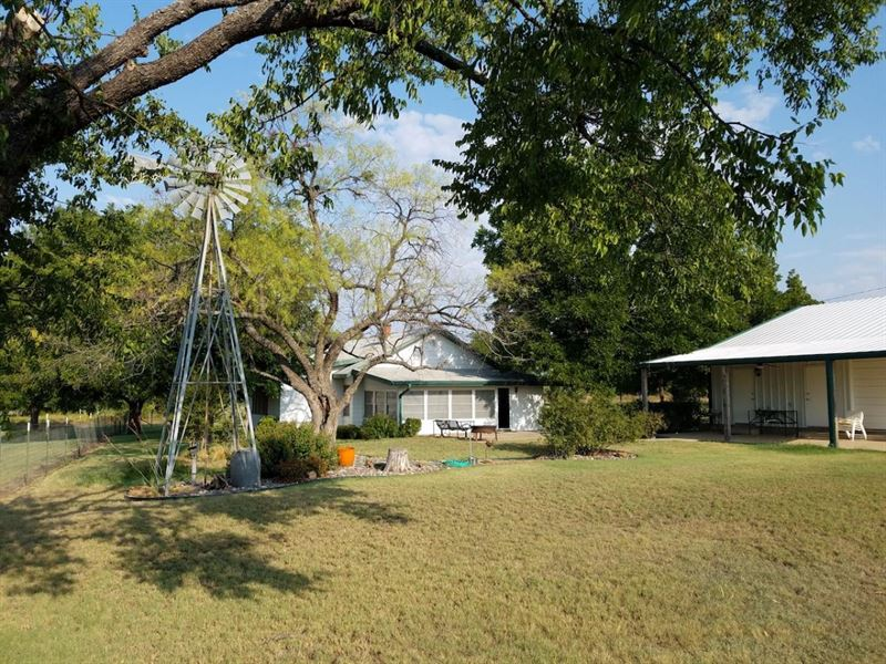 Seven Oaks Farm : Woodson : Throckmorton County : Texas