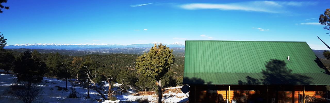 Colorado Cozy Cabin / Big Views : Trinidad : Las Animas County : Colorado