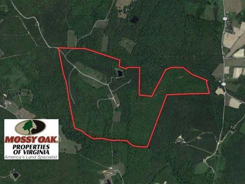 Under Contract, 170 Acres of Recr : Keysville : Lunenburg County : Virginia