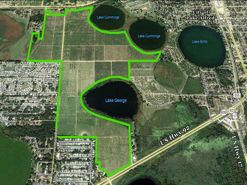 Lynchburg Residential Development : Lake Alfred : Polk County : Florida