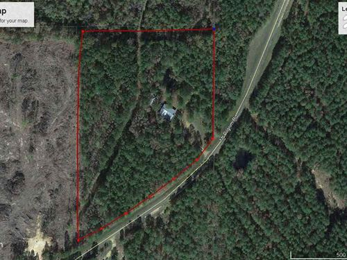 Wooded Lot W/ 4000 Sq Ft Building : Canton : Madison County : Mississippi
