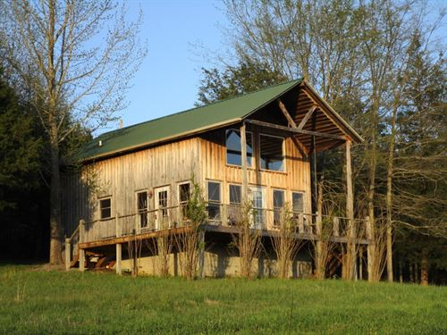 Cabin On 30 Acres In Green County : Greensburg : Green County : Kentucky