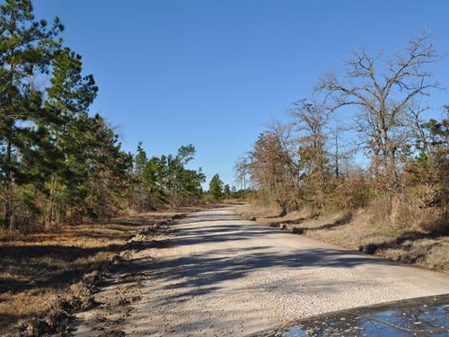 164 Ac Hopewell Road : Huntsville : Walker County : Texas
