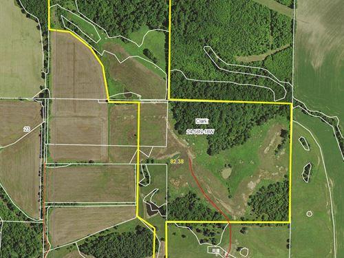 82 Acres Knox Rd Chariton County : Salisbury : Chariton County : Missouri