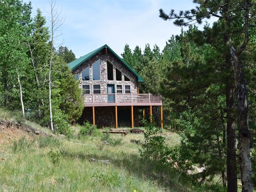 Colorado High Country Cabin : Victor : Fremont County : Colorado