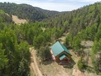 Colorado High Country Cabin : Victor : Fremont County : Colorado