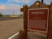 Ranch + Electric Border Public Land : Deming : Luna County : New Mexico