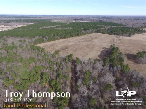 48.89 Acres Homesite/Pasture : Ruby : Avoyelles Parish : Louisiana