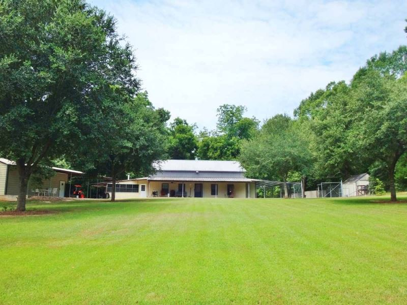 Hunting Lodge Pond Woodville Ms Nea Ranch For Sale