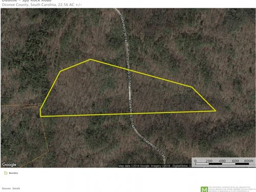 22.59 Acres-Spy Rock Road-Westmi : Westminster : Oconee County : South Carolina