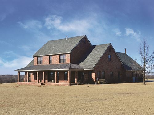 Auction - 5,576 Sq Ft Home/Acreage : Newcastle : McClain County : Oklahoma