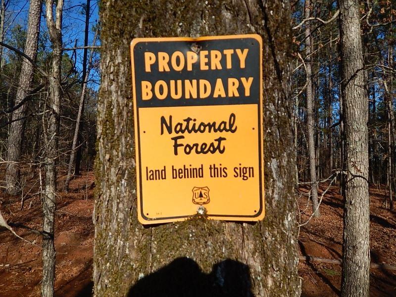 Reduced, National Forest Access : Greensboro : Greene County : Georgia