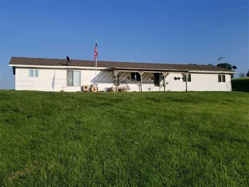 5 Br/3Ba, 45 Acres M/L Land For Sa : Eddyville : Wapello County : Iowa