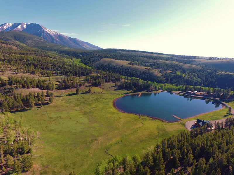 Lazy H Lake & Home : Salida : Chaffee County : Colorado