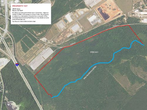 Recreational & Timber Tract : Macon : Bibb County : Georgia
