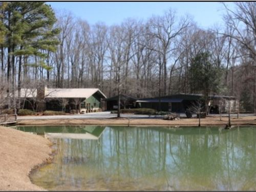 37.93 Acres W/Home In Newton : Newton : Mississippi