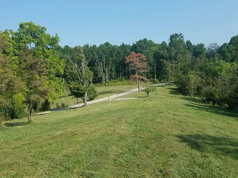 Exceptional Hunting Land / Cabin : Rarden : Scioto County : Ohio