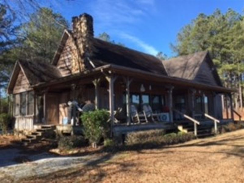 Beautiful Cabin With 190 Acres Ranch For Sale Troy