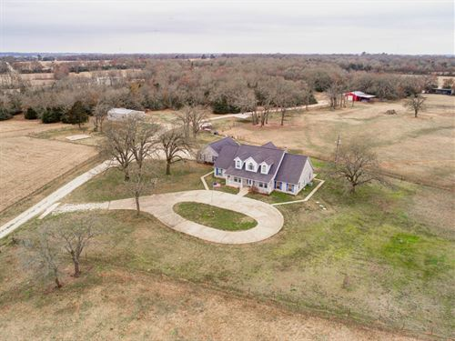 Country Lifestyle Living On 26 Acre : Franklin : Robertson County : Texas