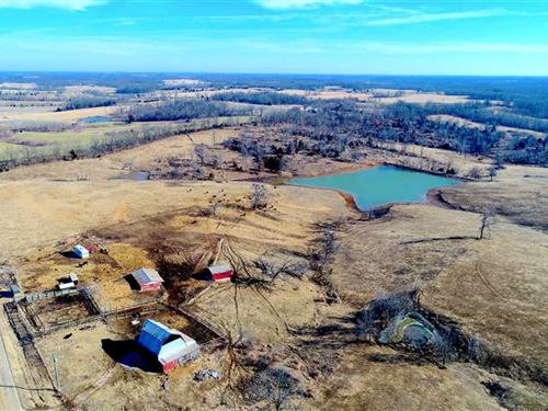 135 Acre Turn Key Cattle Operation : Perryville : Bollinger County : Missouri