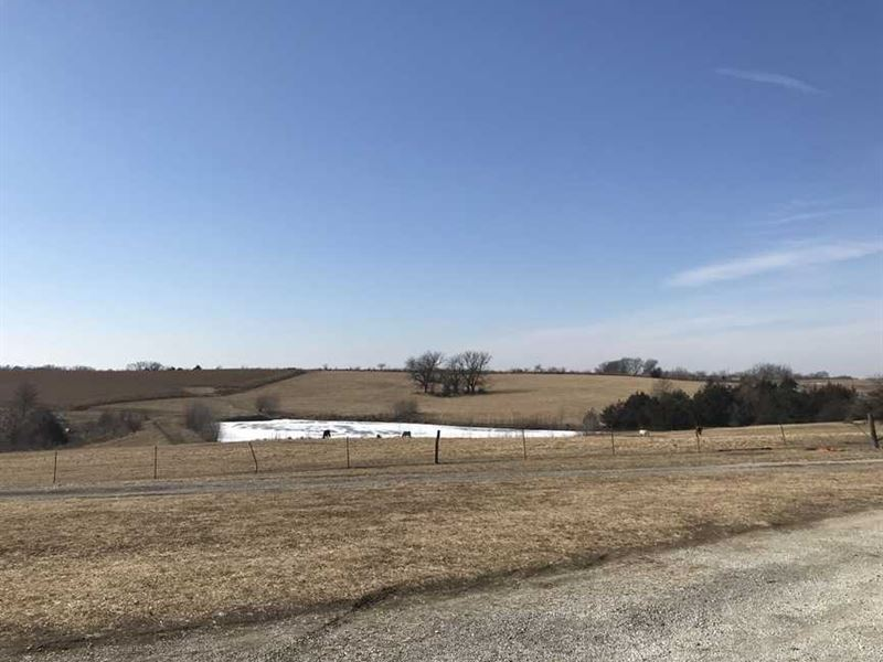 Nice House With 110 Acres Crp And : Trenton : Grundy County : Missouri
